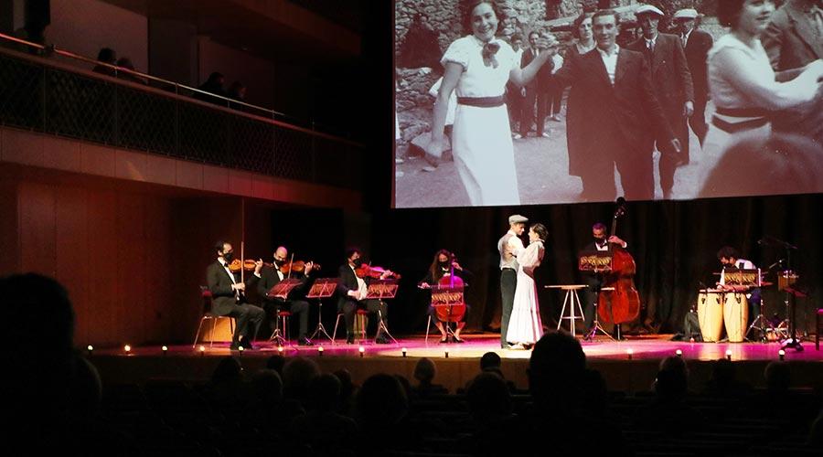 L'espectacle Música per la memòria a l'Auditori Nacional. Foto: Jean Luc Herbert