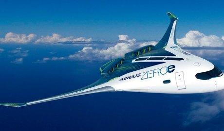 Avió d'Airbus impulsat per hidrogen