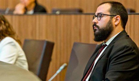 El conseller general socialdemòcrata Carles Sanchez