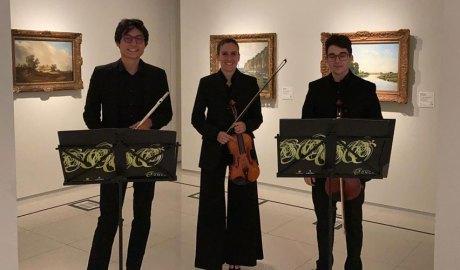 El Trio Jonca al museu Carmen Thyssen