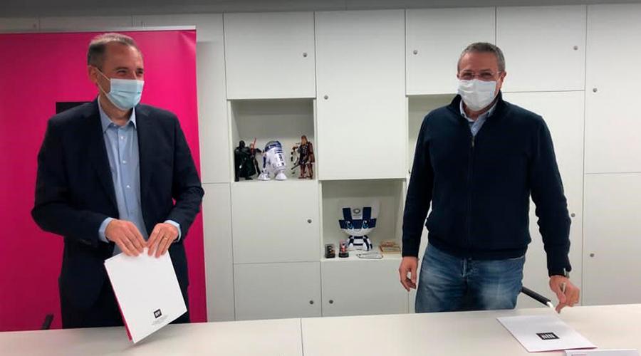 Acord de col·laboració entre Hive Five i NIU.