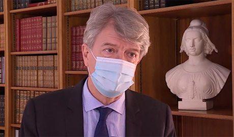 L'ambaixador de França, Jean-Claude Tribolet