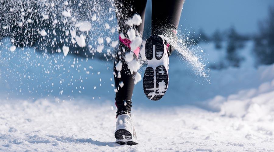 Corrent sobre la neu