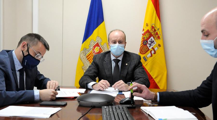 El ministre de Justícia i Interior, Josep Maria Rosell