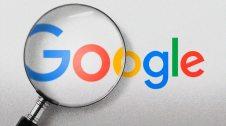Buscador de Google amb una lupa