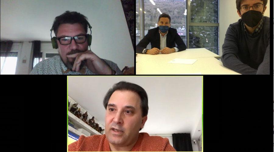 Reunió telemàtica del PS i l'Associació de Bars