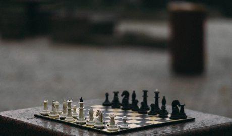 Taulell i peces d'escacs