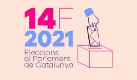 Logotip Eleccions al Parlament de Catalunya del 14 de febrer del 2021
