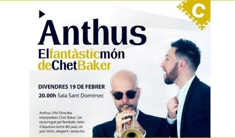 Part del cartell del concert d'Anthus a la Seu d'Urgell