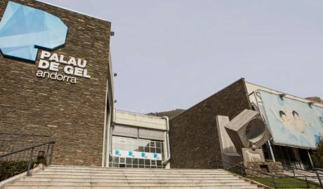 La façana del Palau de Gel