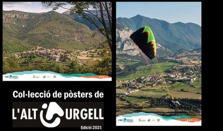 Un parell de pòsters editats pel Consell Comarcal de l'Alt Urgell