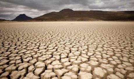 Terreny sec per falta de pluja