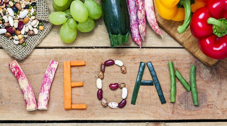 Text vegà fet amb verdures i llegums