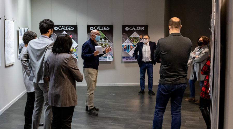 El jurat del concurs d'idees pel projecte Caldes