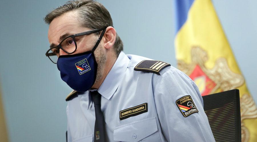 Jordi Farré, director adjunt del Cos de Bombers