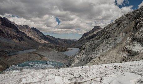 Vall glaciar en actiu