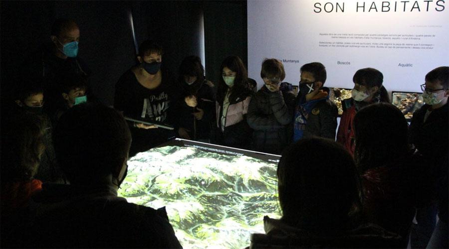 Escolars de visita a la Casa de la Muntanya