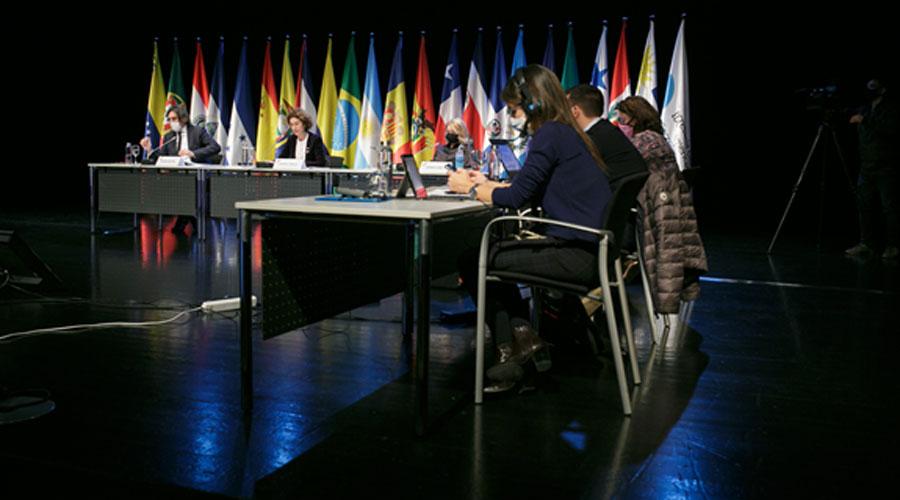 Una reunió de preparació de la Cimera Iberoamericana