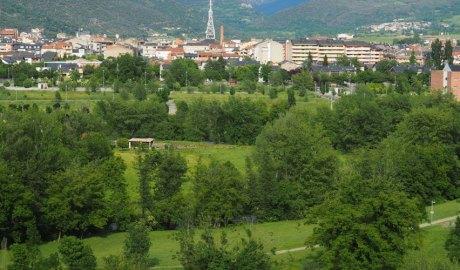 Zona de l'Horta del Valira de la Seu d'Urgell