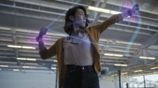 Joc de tir amb arc amb la polsera virtual de facebook