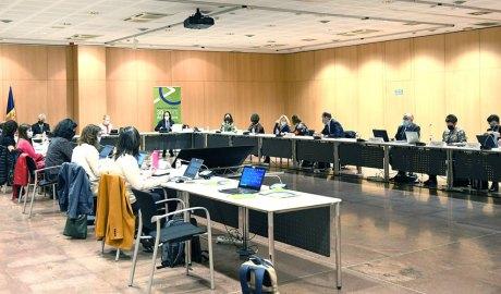 Seminari de l'Acord Polític per a la negociació amb la UE amb actors econòmics i socials. Foto: SFG