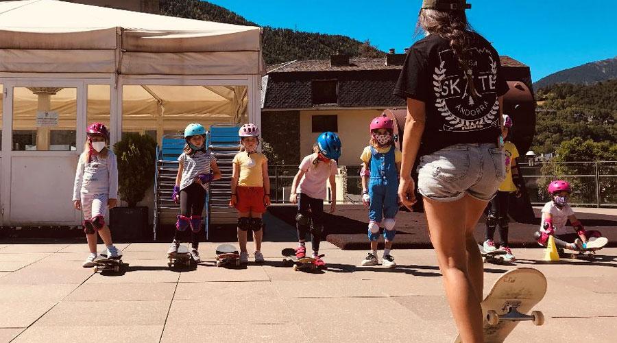 Taller infantil d'skate