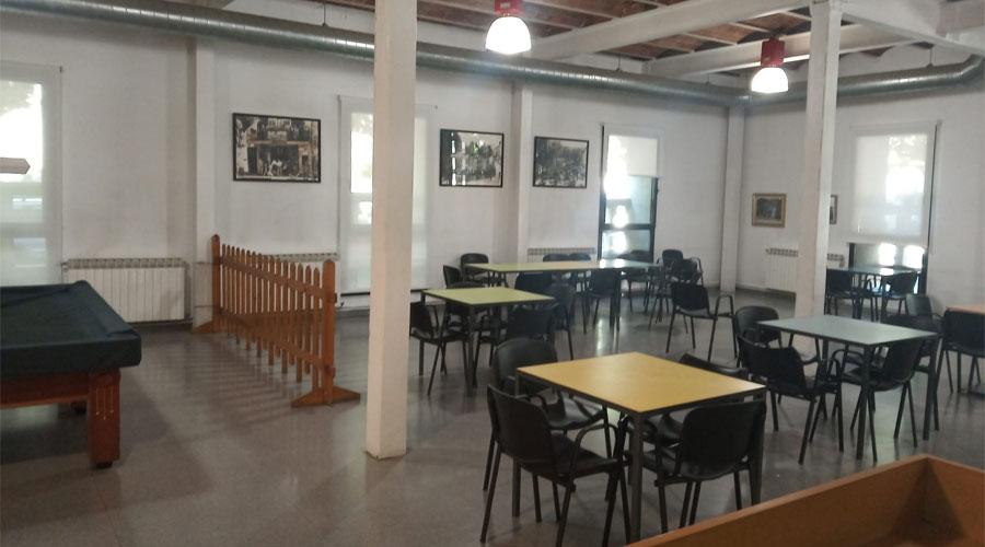 Sala del casal de la gent gran del Centre Cívic El Passeig