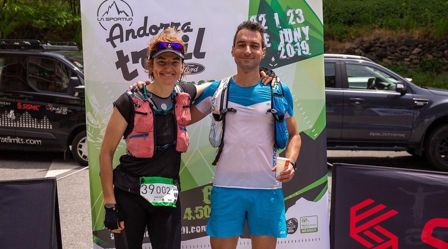 Emma Roca a la Sportiva Andorra Trail del 2019