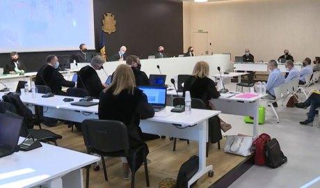 El judici del cas BPA a la sala magna de la Seu de la Justícia