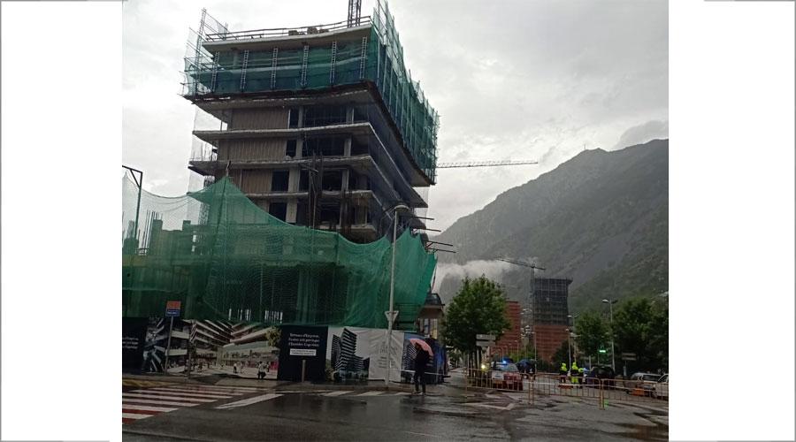 Construcció de la torre Terrasses d'Emprivat