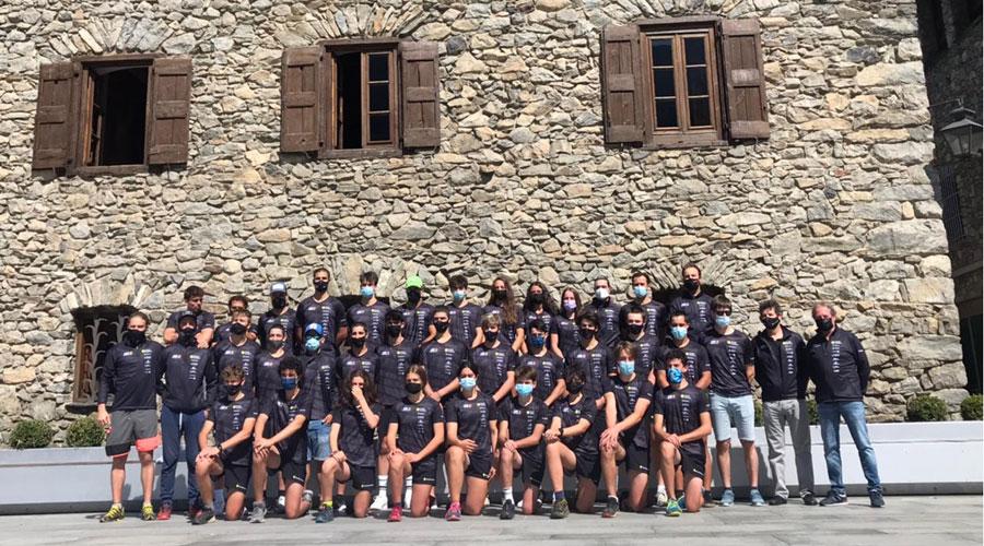L'equip d'esquí alpí de la temporada 2021/22