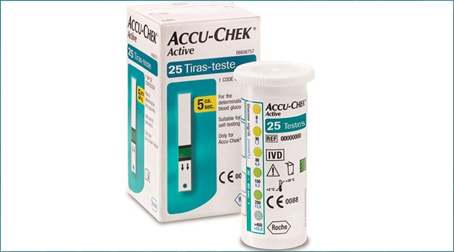 Tires reactives Accu Check