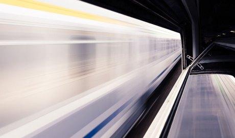 Metro a gran velocitat
