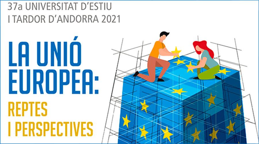 Imatge publicitària de la Universitat d'Estiu i Tardor 2021
