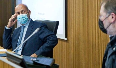 Martínez Benazet a la comissió legislativa de Sanitat