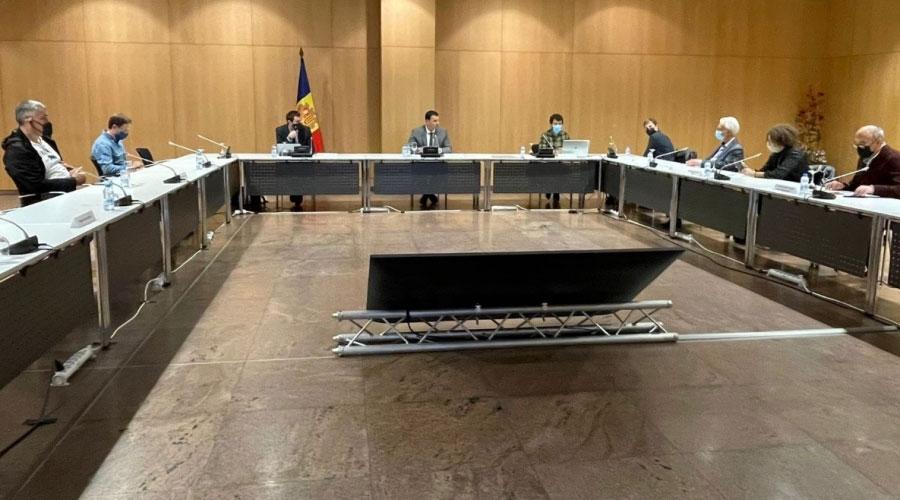 Reunió preparatòria de la candidatura Andorra Reserva de la Biosfera