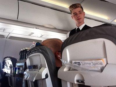 Небо, самолёт, стюардесса. Фото из путешествий. - Страница ...