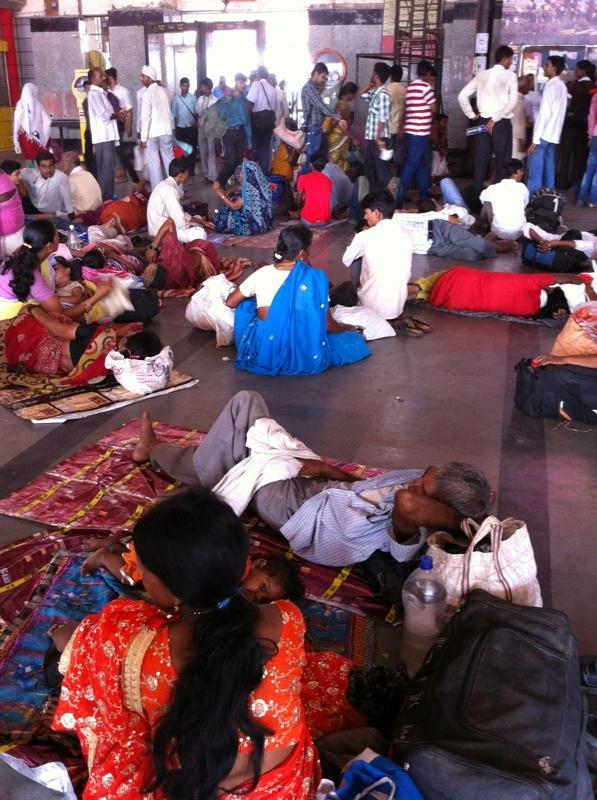 Индия путешествие на поезде