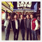 Moon Taxi at Ed Sullivan Theatre