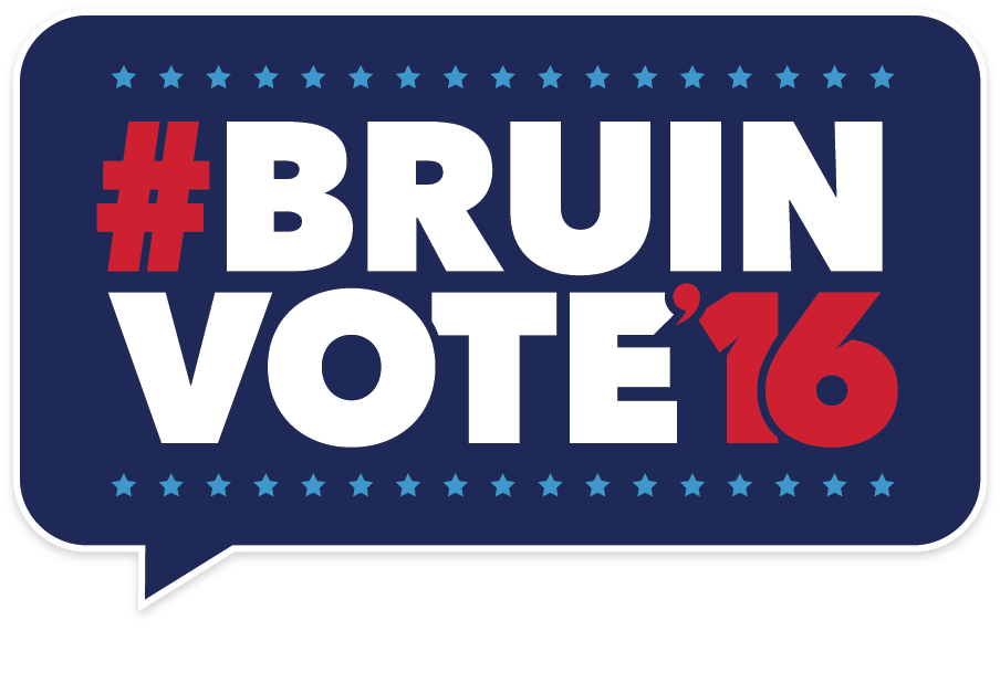 BruinVote16 - Make your voice heard