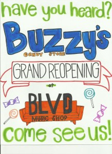 Buzzy's promo poster