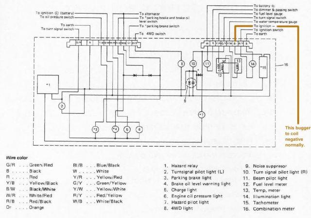 suzuki samurai 1 6 engine diagram