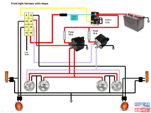 Colored wiring diagrams  70 CudaChallenger in Electrical & Audio  Page 1 of 2