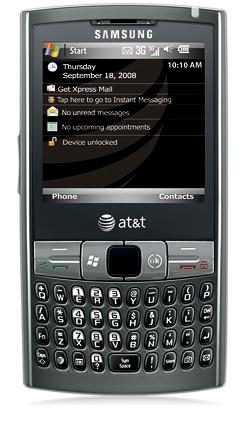 Samsung Epix Looks Like a Fancy Palm Treo. Or a Blackberry Whatever.