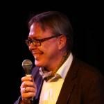 Thomas Hoffmann beim Vortragen
