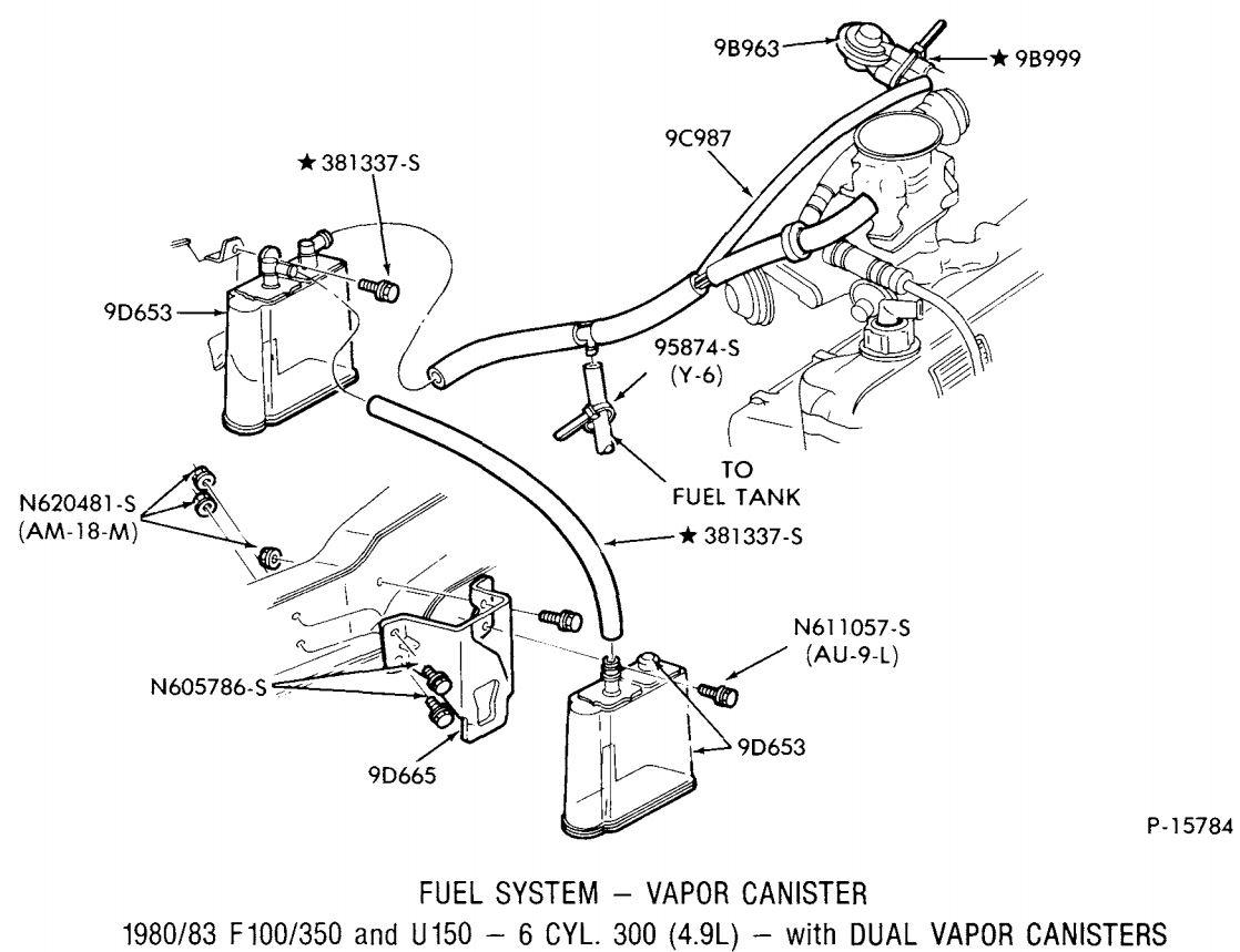 Ford 300 Inline 6 Vacuum Diagram