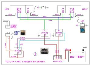 toyota land cruiser 80 series headlights upgrade   IH8MUD Forum