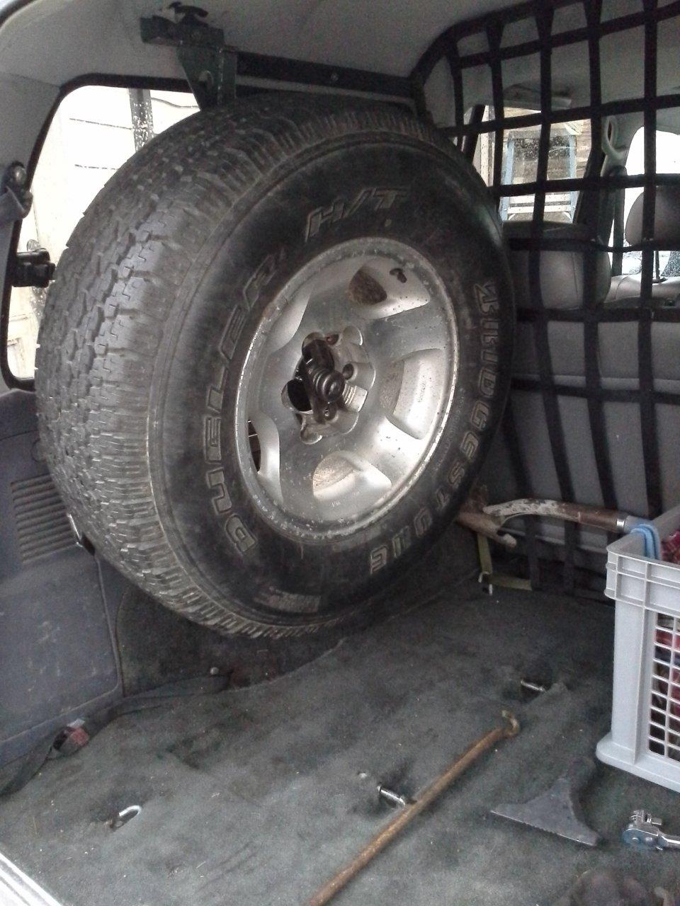 Jeep Tj Interior Door Handle