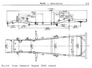 FJ45 Frame Dimensions   IH8MUD Forum