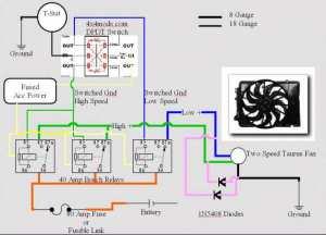 More Electric Fan Wiring Help (incl Diagram) | IH8MUD Forum
